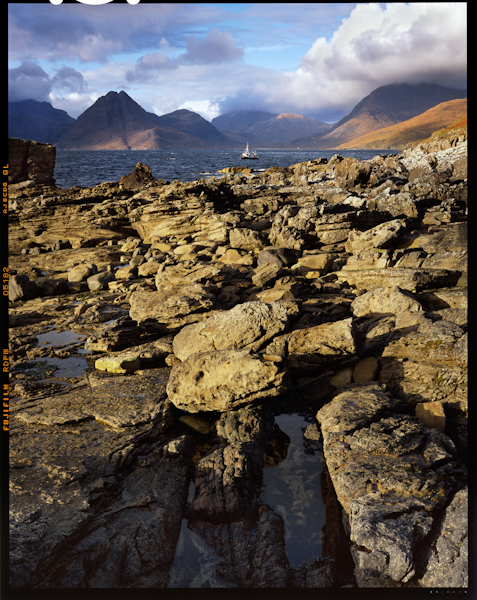 Cuillin Mountains from Elgol, Skye